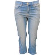 Angels Anacapri Stitch Leichte Capri Jeans Franzen Bekleidung