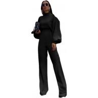 Fliegend Damen Freizeitanzug Casual Hausanzug Einteiler Hosenanzug Elegant Jumpsuit Bekleidung Set Lässige Änzuge S Bekleidung