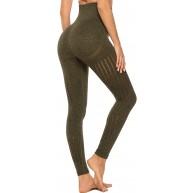 INSTINNCT Legging Sport Femme Sexy Pantalon Yoga Confortable Elastique Taille Haute Collant Basique Amincissant Bekleidung