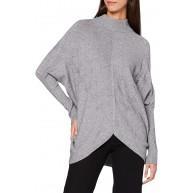 APART Fashion Damen Knitted Pullover Bekleidung