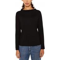 ESPRIT Damen 119EE1J005 Pullover Schwarz Black 001 X-Small Herstellergröße XS Bekleidung