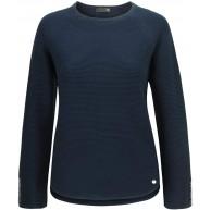 Rabe Pullover hinten laenger geschnitten Farbe Marine Größe 38 Bekleidung