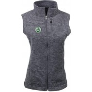 Ouray Sportswear NCAA Colorado State Rams Damen W Guide VestW Guide Weste Charcoal Heather XL Bekleidung
