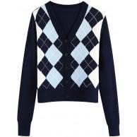 MINASAN Damen Strickjacke für Damen Pullover Pulli Strickmantel mit Kapuzen Langarm Herbst Winter Outwear Cardigan Vintage-Stil Sweater Top Bekleidung