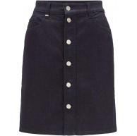 BOSS Damen Jeans Skirt Rock Bekleidung
