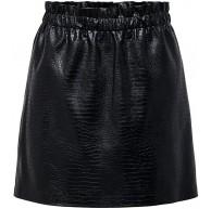 ONLY Damen Onlcoco Faux Leather Skirt OTW Rock Bekleidung