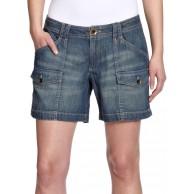 Eddie Bauer Damen Jeans Short Normaler Bund 22217148 Bekleidung