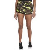 Urban Classics Damen Ladies Printed Camo Hot Pants Shorts Bekleidung