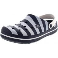 Crocs - Exclusive - Crocband Graphic Clog - Navy White Größe48 49 EU Schuhe & Handtaschen