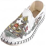 Damen Slip On Sneakers Stickerei Flache Slipper Weich Low Top Bequeme Leichte Atmungsaktive Freizeitschuhe Schöner Damenschuhe Loafers Celucke Schuhe & Handtaschen