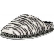 Brandsseller Hausschuhe im Zebra- oder Leopardendesign für Damen - Motiv Zebra - Größe 37 38 Schuhe & Handtaschen