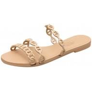 Cardith Damen Mode Casual Outdoor Schuhe Sommer Solid Color Strand Hausschuhe flach mit Hohl Hausschuhe Schuhe & Handtaschen