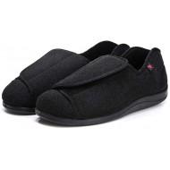 Cxypeng Orthopädische Pantoffeln Erweitern und vergrößern Sie die Größe von Diabetes-Schuhen postoperative Pflegeschuhe-48_Black Diabetes Schuhe Wanderschuhe Air Cushion Schuhe & Handtaschen