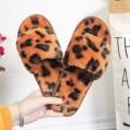 Damen Hausschuhe Winter Warm Fluffy Plüsche Pantoffeln rutschfeste Flache Flip Flop Slippers Schuhe & Handtaschen