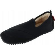 Fit Kicks Damen Solid Kozi Kicks Isolierte Hausschuhe Schwarz - Schwarz - Größe 36.5 37.5 EU Schuhe & Handtaschen