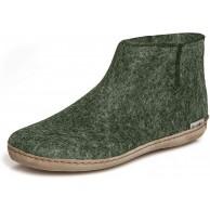 glerups dk G Ankle Shoe Unisex-Erwachsene Filz-Stiefel Damen Herren Huettenschuhe weibliche Freizeit Pantoffel Slipper Puschen Forest 39 EU 6 UK Schuhe & Handtaschen