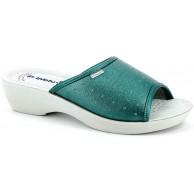 inblu Hausschuhe für Damen Modell PL-45n Aquamarin Schuhe & Handtaschen