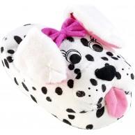 infactory Hausschuhe Dalmatiner mit lebendigen Wackelohren Gr. 35-37 Schuhe & Handtaschen