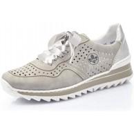 Rieker Damen Schnürhalbschuhe M6926 Frauen sportlicher Schnürer Schuhe & Handtaschen