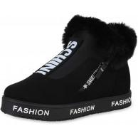 SCARPE VITA Damen Plateau Sneaker Warm Gefüttert Schuhe & Handtaschen