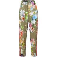 Stehmann Zypern2-700-92611 leichte Sommerhose im tropischen Blumendesign Bekleidung