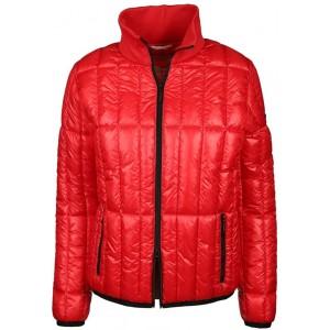 Frieda & Freddies Damen Jacke mit Stehkragen Größe S Rot rot Bekleidung