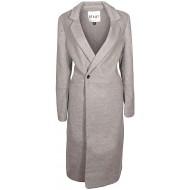 Khujo Mimas Damen Mantel grau meliert GrößeM Bekleidung